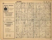 Dorr T4N-R12W, Allegan County 1954